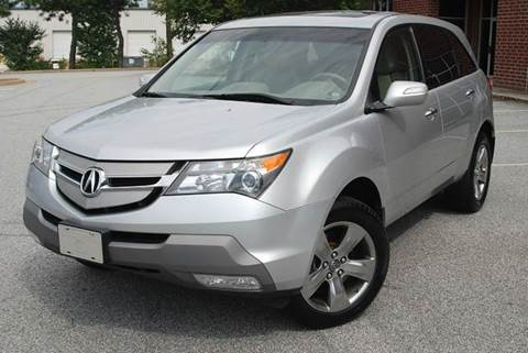 2008 Acura MDX for sale at Desired Motors in Alpharetta GA