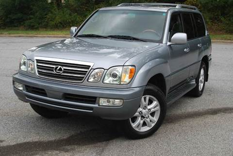 2004 Lexus LX 470 for sale at Desired Motors in Alpharetta GA