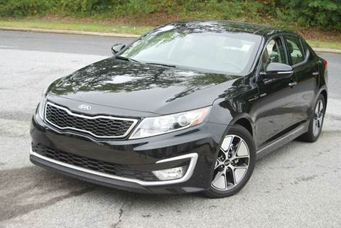 2013 Kia Optima Hybrid for sale at Desired Motors in Alpharetta GA