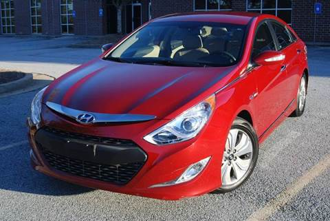 2013 Hyundai Sonata Hybrid for sale at Desired Motors in Alpharetta GA