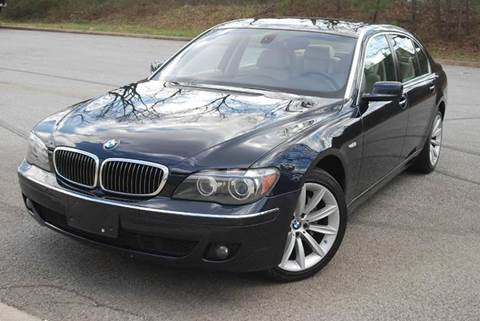 2008 BMW 7 Series for sale at Desired Motors in Alpharetta GA
