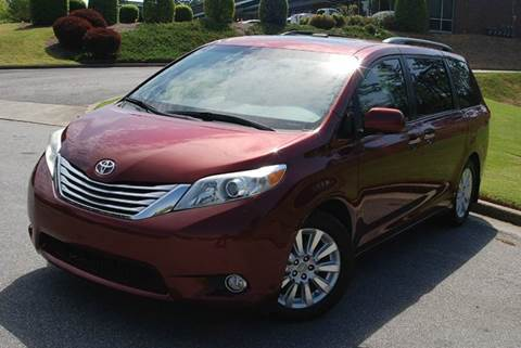 2011 Toyota Sienna for sale at Desired Motors in Alpharetta GA