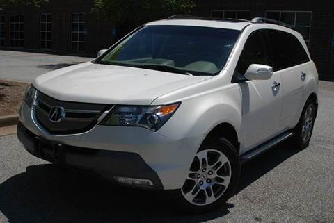 2007 Acura MDX for sale at Desired Motors in Alpharetta GA