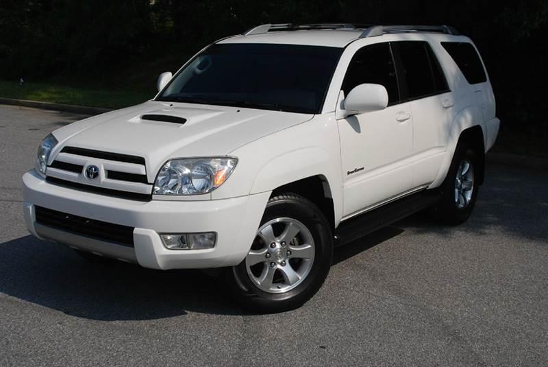 2005 Toyota 4Runner for sale at Desired Motors in Alpharetta GA