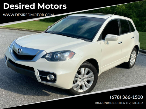 2011 Acura RDX for sale at Desired Motors in Alpharetta GA