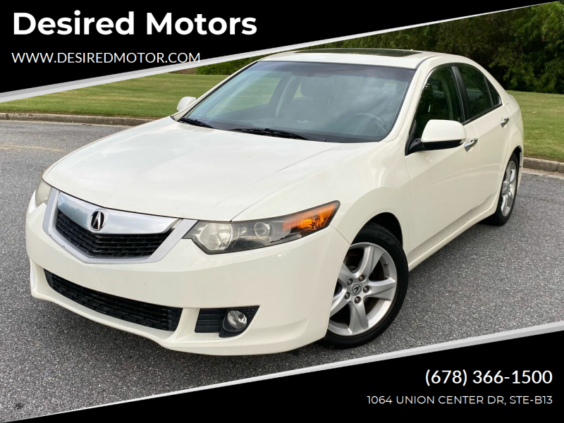 2010 Acura TSX for sale at Desired Motors in Alpharetta GA