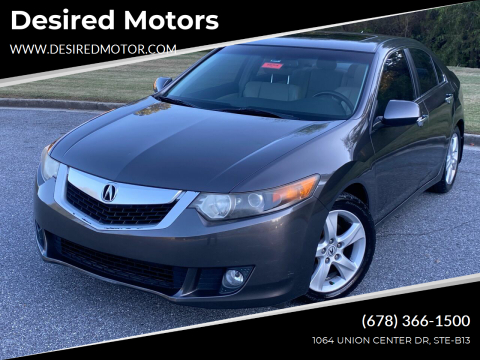 2009 Acura TSX for sale at Desired Motors in Alpharetta GA