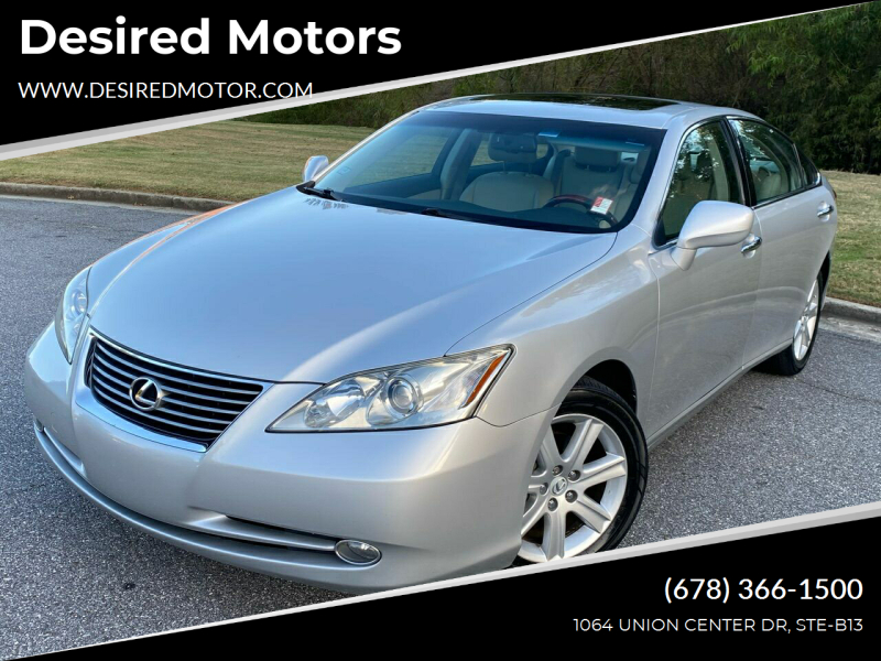 2007 Lexus ES 350 for sale at Desired Motors in Alpharetta GA