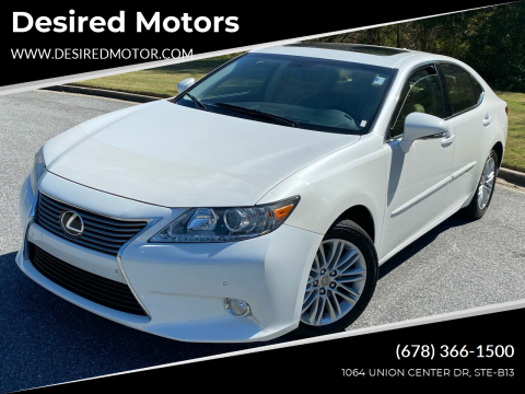 2013 Lexus ES 350 for sale at Desired Motors in Alpharetta GA