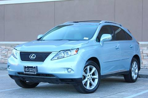 2010 Lexus RX 350 for sale in Houston, TX