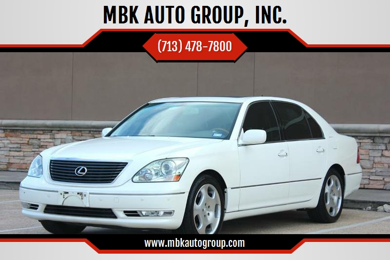 2006 Lexus LS 430 For Sale At MBK AUTO GROUP, INC. In Houston TX