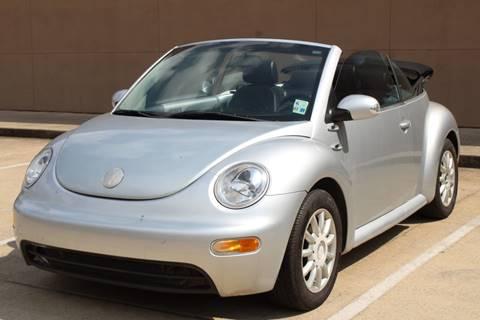 2004 Volkswagen New Beetle for sale in Houston, TX