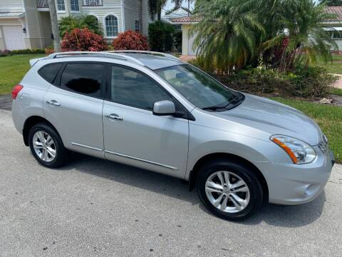 2013 Nissan Rogue SV for sale at Exceed Auto Brokers in Pompano Beach FL