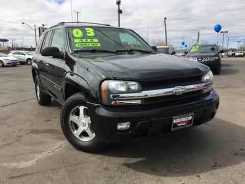 2003 Chevrolet TrailBlazer for sale in Waukegan, IL