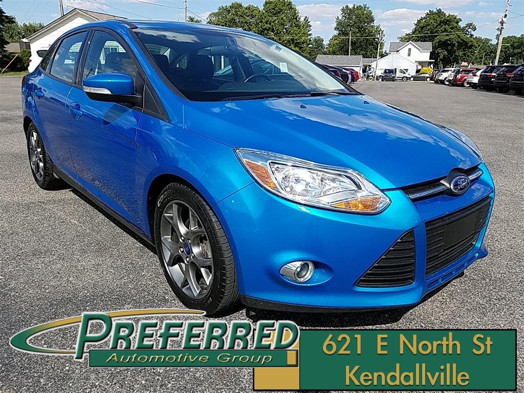 2014 Ford Focus for sale at Preferred Auto Kendallville in Kendallville IN