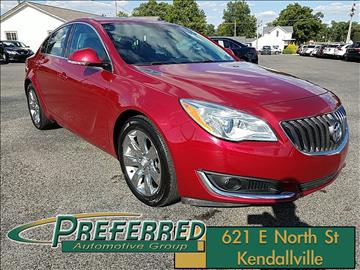 2014 Buick Regal for sale at Preferred Auto Kendallville in Kendallville IN