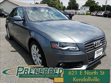 2012 Audi A4 for sale at Preferred Auto Kendallville in Kendallville IN