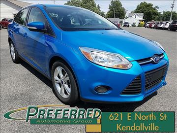 2013 Ford Focus for sale at Preferred Auto Kendallville in Kendallville IN