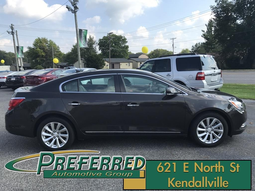2014 Buick LaCrosse for sale at Preferred Auto Kendallville in Kendallville IN