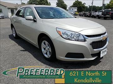 2016 Chevrolet Malibu Limited for sale at Preferred Auto Kendallville in Kendallville IN