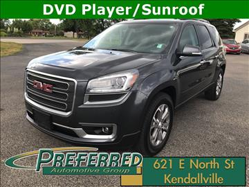 2014 GMC Acadia for sale at Preferred Auto Kendallville in Kendallville IN