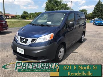 2014 Nissan NV200 for sale at Preferred Auto Kendallville in Kendallville IN