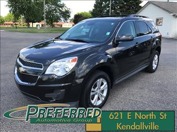 2015 Chevrolet Equinox for sale at Preferred Auto Kendallville in Kendallville IN