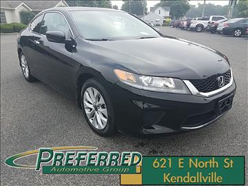 2014 Honda Accord for sale at Preferred Auto Kendallville in Kendallville IN