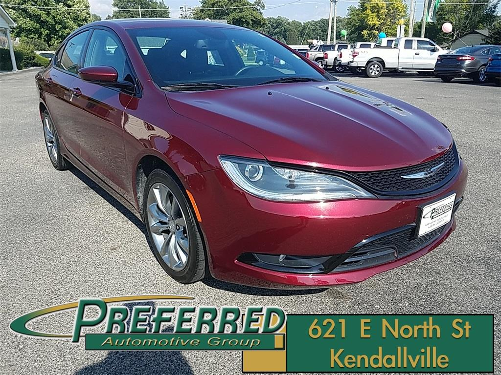 2015 Chrysler 200 for sale at Preferred Auto Kendallville in Kendallville IN