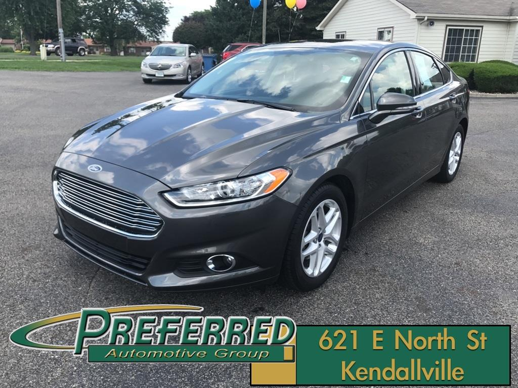 2016 Ford Fusion for sale at Preferred Auto Kendallville in Kendallville IN