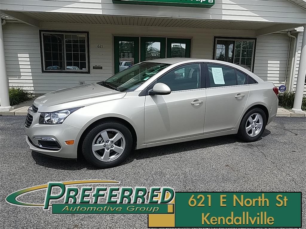 2016 Chevrolet Cruze Limited for sale at Preferred Auto Kendallville in Kendallville IN