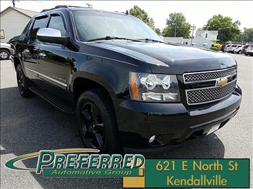 2011 Chevrolet Avalanche for sale at Preferred Auto Kendallville in Kendallville IN