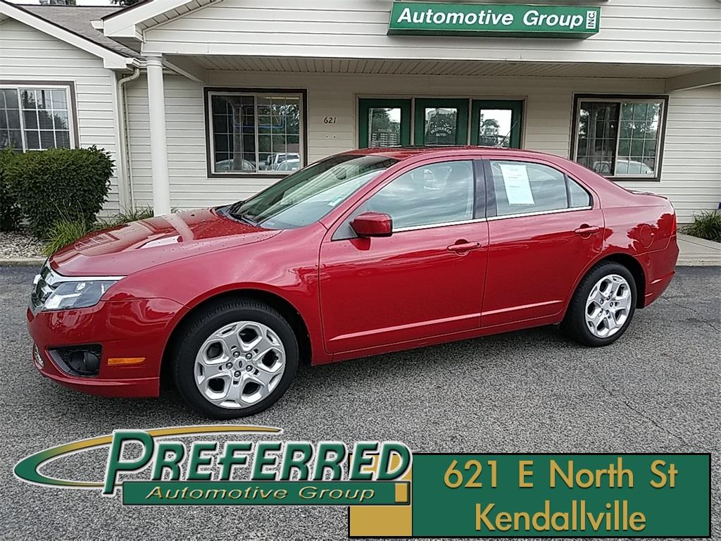 2010 Ford Fusion for sale at Preferred Auto Kendallville in Kendallville IN