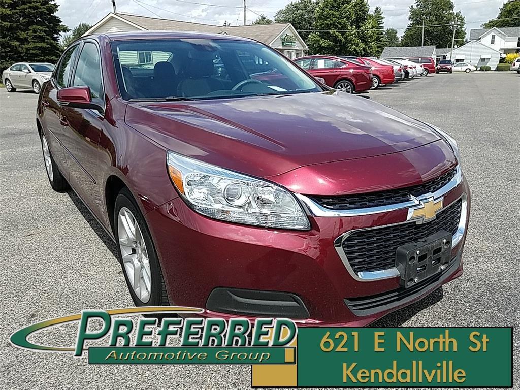 2015 Chevrolet Malibu for sale at Preferred Auto Kendallville in Kendallville IN