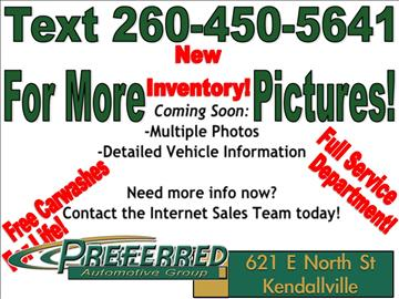 2011 GMC Sierra 1500 for sale at Preferred Auto Kendallville in Kendallville IN