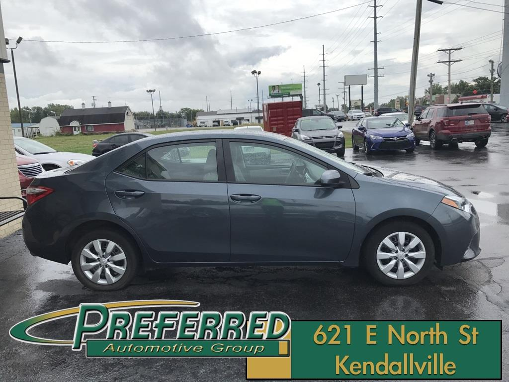 2015 Toyota Corolla for sale at Preferred Auto Kendallville in Kendallville IN