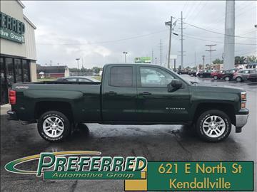 2014 Chevrolet Silverado 1500 for sale at Preferred Auto Kendallville in Kendallville IN
