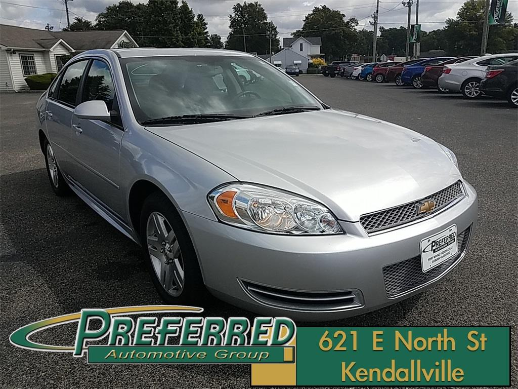 2015 Chevrolet Impala Limited for sale at Preferred Auto Kendallville in Kendallville IN