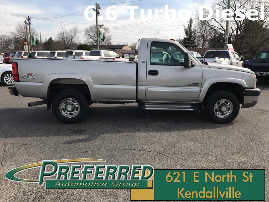 2007 Chevrolet Silverado 2500HD Classic Work Truck 2dr Regular Cab 4WD LB - Kendallville IN