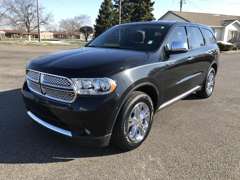 2013 Dodge Durango for sale at Preferred Auto Kendallville in Kendallville IN