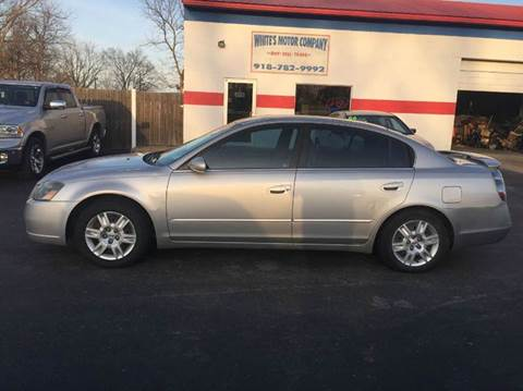2006 Nissan Altima for sale at WHITE'S MOTOR COMPANY in Langley OK