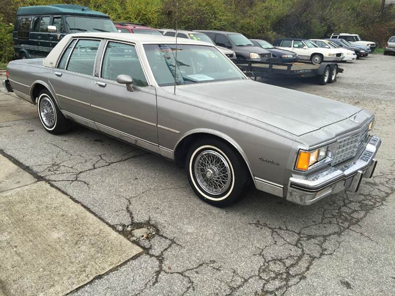 1983 chevrolet caprice classic 4dr sedan in lexington ky for Royal motors lexington ky
