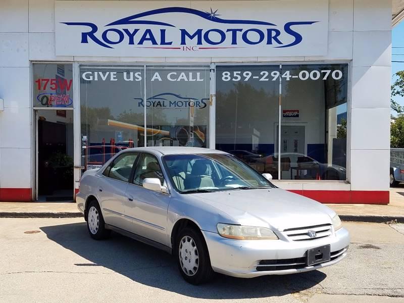 2002 honda accord lx 4dr sedan in lexington ky royal motors inc
