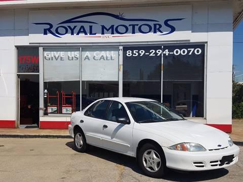 2002 Chevrolet Cavalier for sale in Lexington, KY