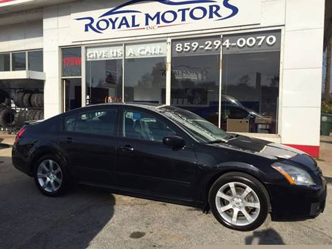 Royal motors inc used cars lexington ky dealer for Royal motors lexington ky
