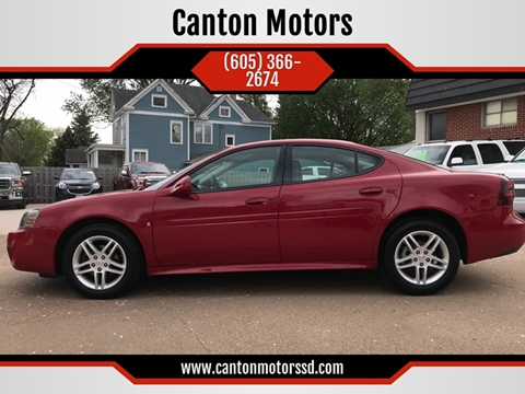 2007 Pontiac Grand Prix for sale in Canton, SD