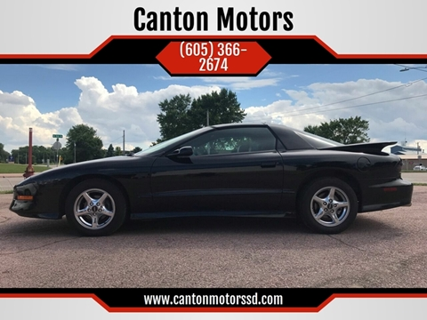 1997 Pontiac Firebird for sale in Canton, SD