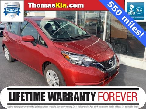 2018 Nissan Versa Note for sale in Highland, IN