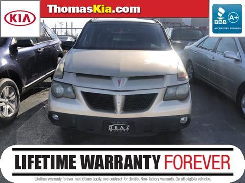 2003 Pontiac Aztek for sale in Highland, IN