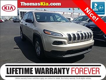 2014 Jeep Cherokee for sale in Highland, IN
